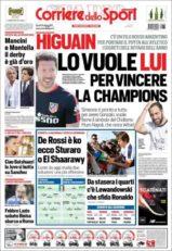 عناوین روزنامه کوریره دلو اسپورت ایتالیا 10 تیر 95