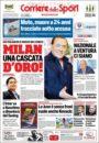 عناوین روزنامه کوریره دلو اسپورت ایتالیا 15 خرداد 95