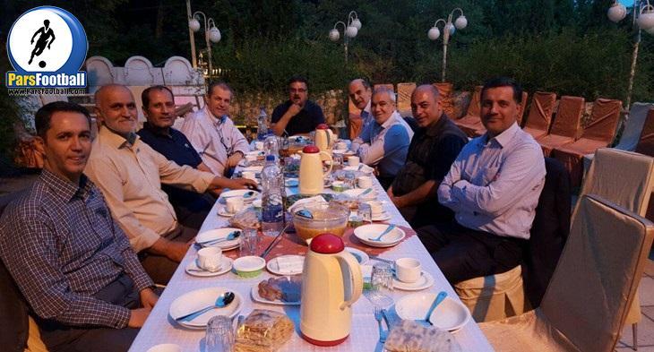 ضیافت افطاری مدیران پیشین باشگاه استقلال