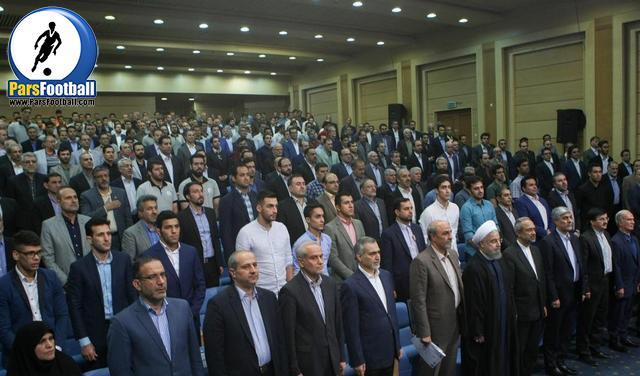 افطار رییس جمهوری و ورزشکاران