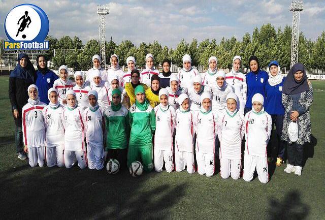 تیم ملی دختران نوجوان