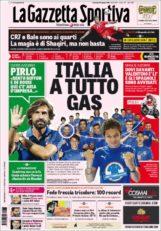عناوین روزنامه گازتا دلو اسپورت ایتالیا 6 تیر 95