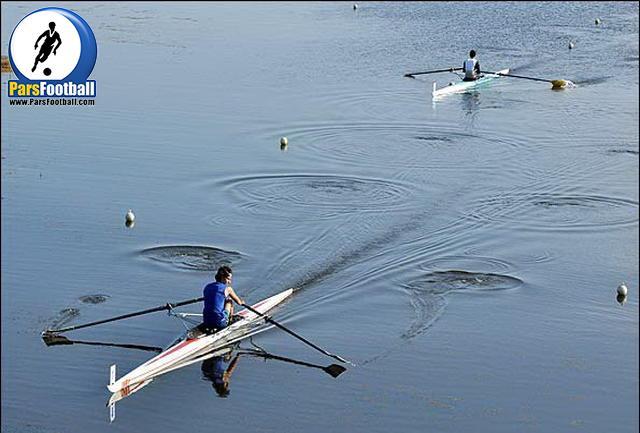 قایقرانی - ورزشکار صربستانی - طاهر کبوتری