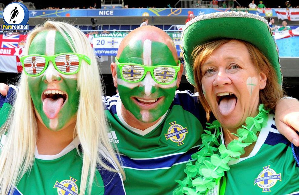 هواداران متفاوت ایرلندی