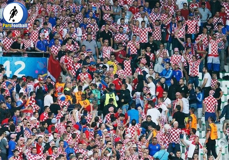 هواداران تیم ملی کرواسی