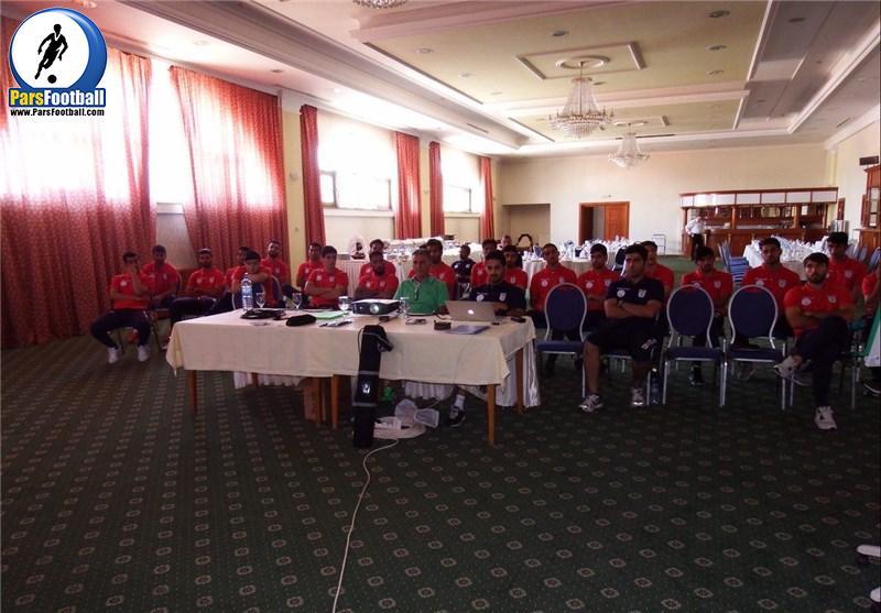 جلسه فنی شاگردان کیروش پیش از مصاف با مقدونیه