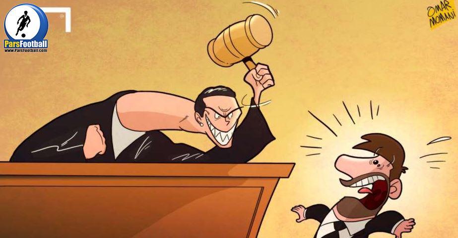 چهره آشنای قاضی دادگاه مسی !