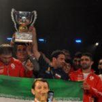 قهرمانی تیم ملی کشی آزاد ايران