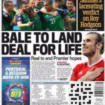 عناوین روزنامه دیلی میل اسپورت بریتانیا 2 تیر 95