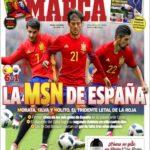 عناوین روزنامه مارکا اسپانیا 13 خرداد 95