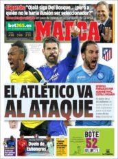 روزنامه مارکا اسپانیا 10 تیر