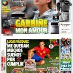 عناوین روزنامه مارکا اسپانیا 16 خرداد 95
