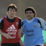 واکنش مارادونا به خداحافظی لیونل مسی