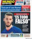 عناوین روزنامه ال موندو دپورتیوو اسپانیا22 خرداد 95