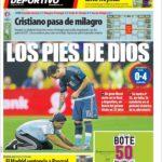 عناوین روزنامه ال موندو دپورتیوو اسپانیا 3تیر 95