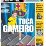 عناوین روزنامه ال موندو دپورتیوو اسپانیا 4 تیر 95