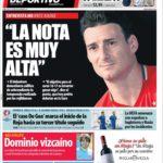 عناوین روزنامه ال موندو دپورتیوو اسپانیا 24 خرداد 95