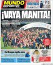 عناوین روزنامه ال موندو دپورتیوو اسپانیا 28 خرداد 95