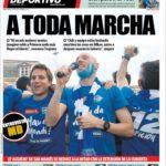 عناوین روزنامه ال موندو دپورتیوو اسپانیا 14 خرداد 95