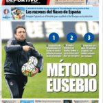 عناوین روزنامه ال موندو دپورتیوو اسپانیا 9 تیر 95