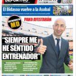 عناوین روزنامه ال موندو دپورتیوو اسپانیا 17 خرداد 95