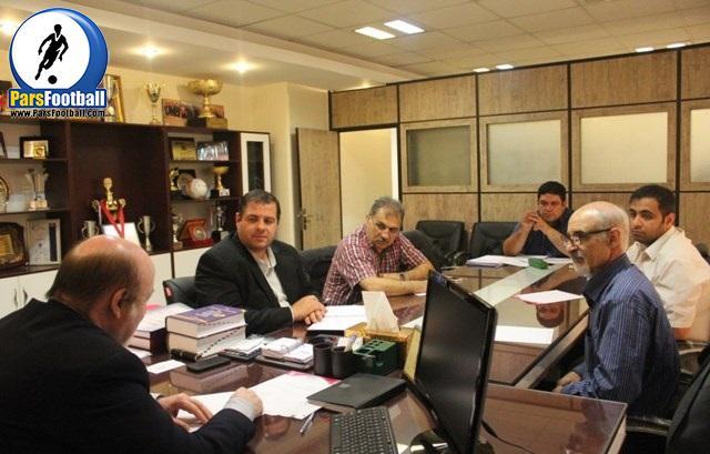 نشست هیات رئیسه سازمان لیگ فوتسال