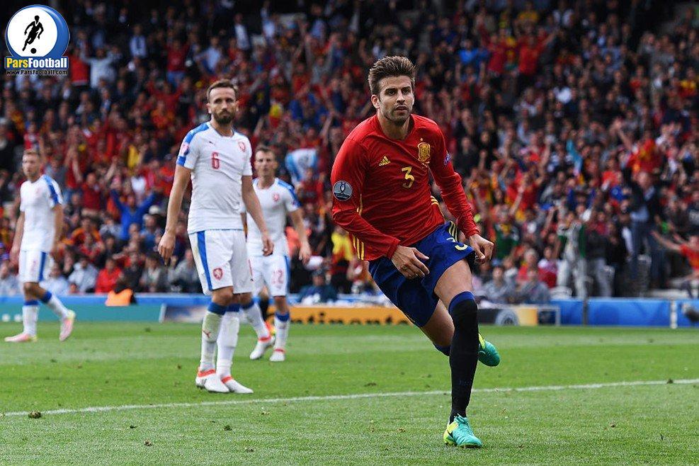 مدافع تیم ملی اسپانیا