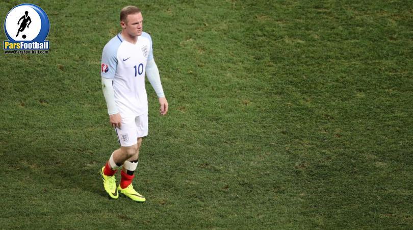 واکنش وین رونی به شکست انگلیس مقابل ایسلند