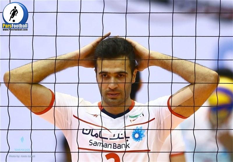 مصطفی شریفات - تیم ملی والیبال