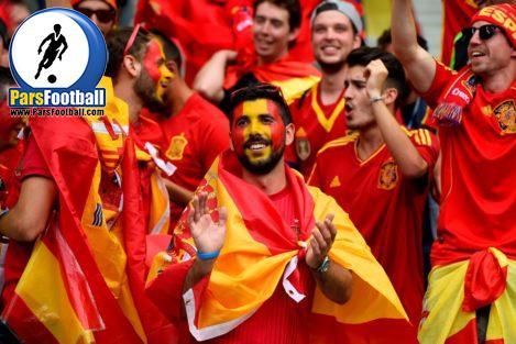 هواداران اسپانیا