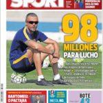 عناوین روزنامه اسپورت اسپانیا 27 خرداد 95