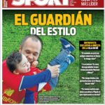 عناوین روزنامه اسپورت اسپانیا 31 خرداد 95