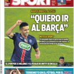 عناوین روزنامه اسپورت اسپانیا 5 تیر 95