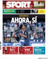 عناوین روزنامه اسپورت اسپانیا 6 تیر 95