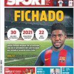 عناوین روزنامه اسپورت اسپانیا 10 تیر 95