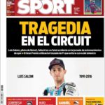 عناوین روزنامه اسپورت اسپانیا 15 خرداد 95