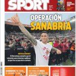 عناوین روزنامه اسپورت اسپانیا 17 خرداد 95