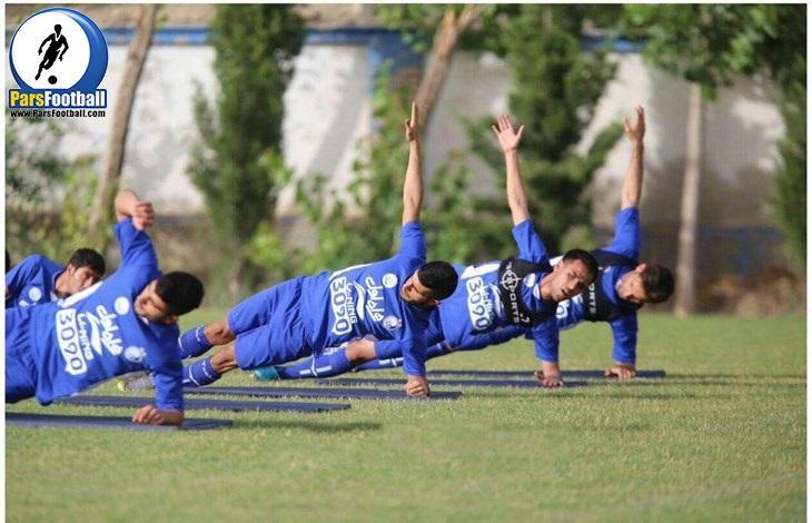 تمرین استقلال - عارف محمدوند