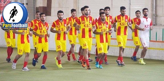 تمرین تیم فولاد خوزستان