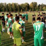تمرین تیم فوتبال ذوب آهن