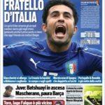 عناوین روزنامه توتو اسپورت ایتالیا29 خرداد 95