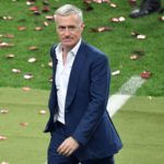 France's coach Didier Deschamps is pictured after the Euro 2016 final football match between Portugal and France at the Stade de France in Saint-Denis, north of Paris, on July 10, 2016. / AFP PHOTO / PHILIPPE LOPEZ