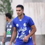 علی قربانی مهاجم تیم استقلال