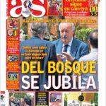 روزنامه آ.اس اسپانیا 11 تیر