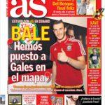 عناوین روزنامه آ.اس اسپانیا 15 تیر 95