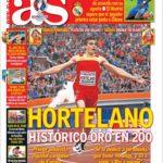 عناوین روزنامه آ.اس اسپانیا 19 تیر 95