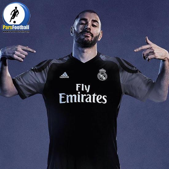پیراهن سوم رئال مادرید به رنگ مشکی است