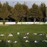 زمین کمپ تیمهای ملی