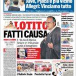 عناوین روزنامه کوریره دلو اسپورت ایتالیا 19 تیر 95