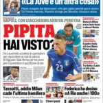 عناوین روزنامه کوریره دلو اسپورت ایتالیا 23 تیر 95